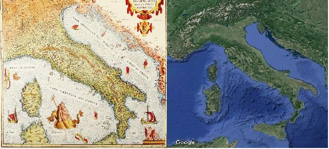 Mappe del mondo e successo